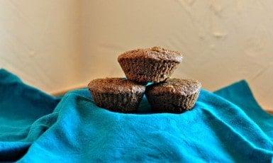 pumpkin muffins served