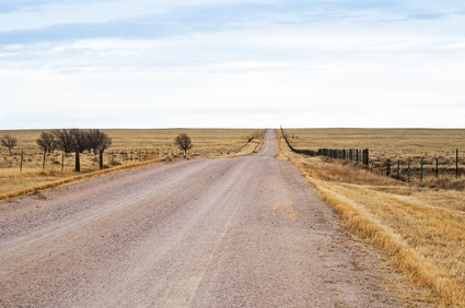 Long Road and Empty