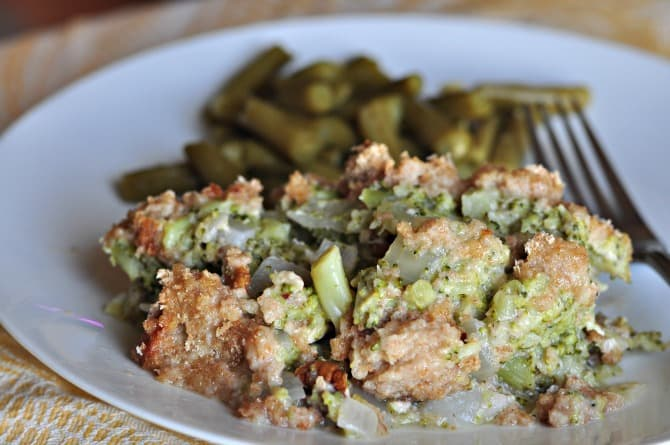 broccoli nut casserole