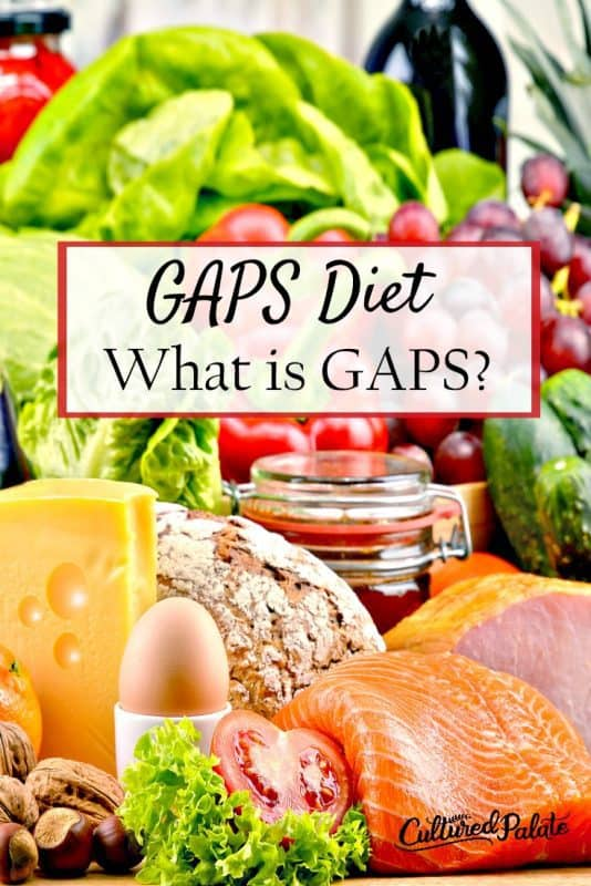 photo of fruits, veggies and fish from the post GAPS Diet Review- What is GAPS