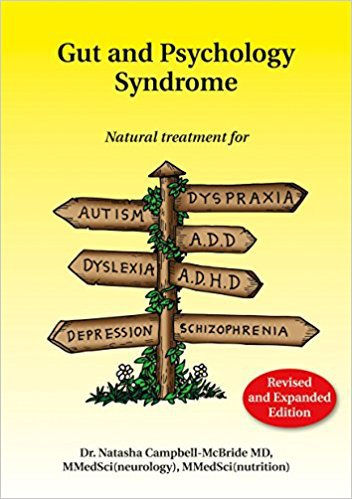 gut and pshychology syndrome - gaps book