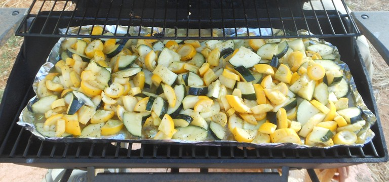 squash on grill for grilled squash