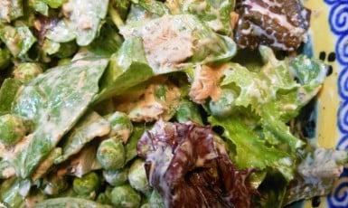 tuna - pea salad