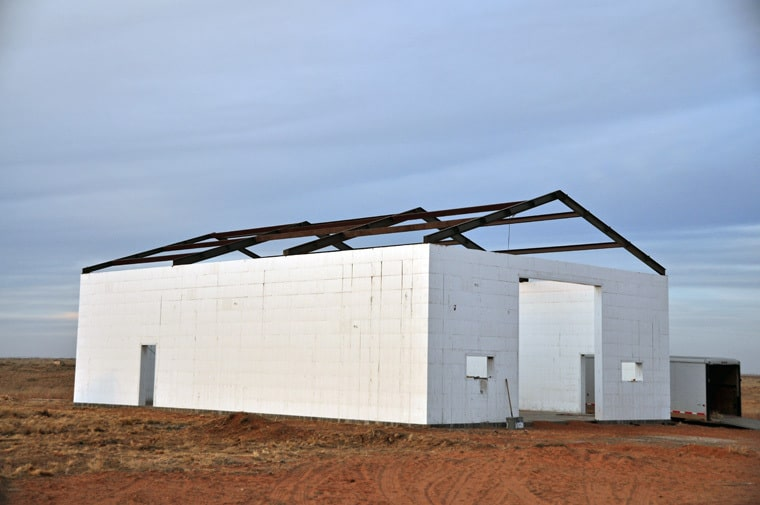 Icf Barn Raising Roof