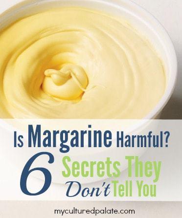 Is Margarine Harmful?