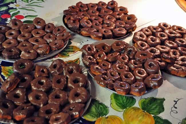 doughnuts ready to eat