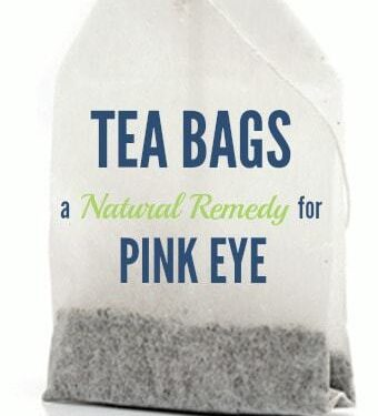 Tea Bags - A Natural Remedy for Pink-Eye