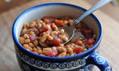 baked beans GAPS legal