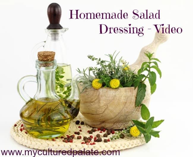 homemade salad dressing video