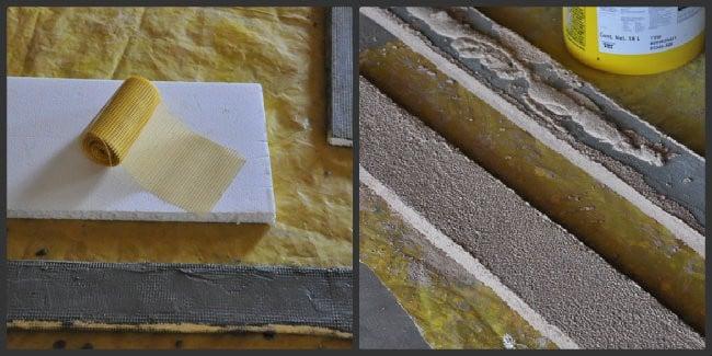EIFS trim collage