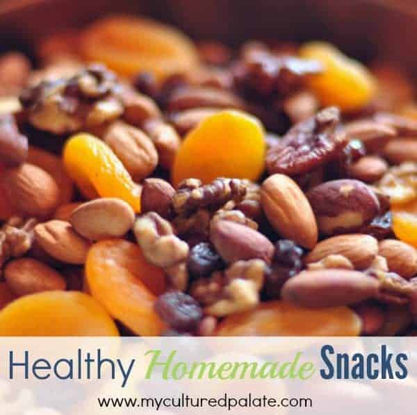 healthy homemade snacks