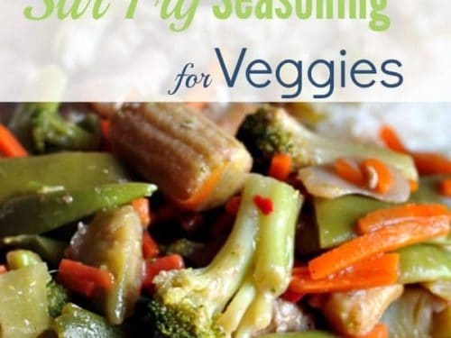stir fry seasoning for vegetables