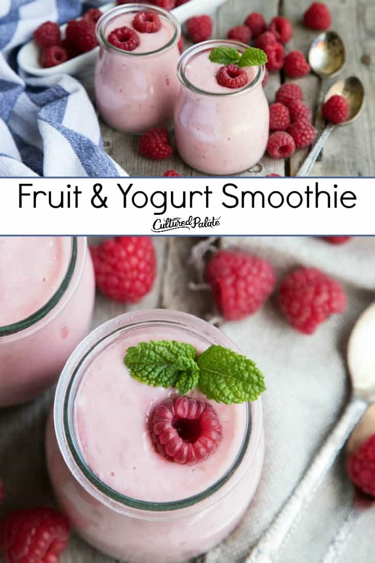 Smoothies shown in glass jars ready to enjoy with text overlay.