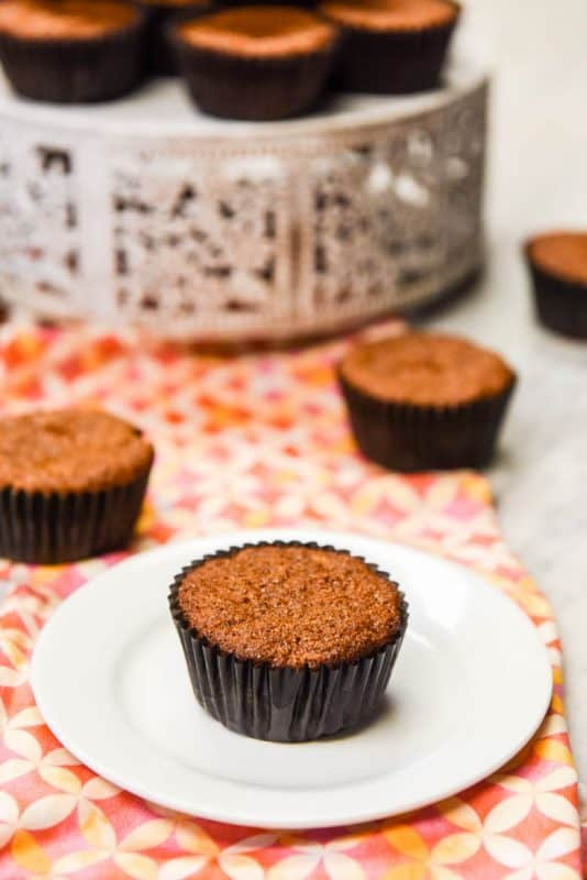 Carrot Muffins - Healthy Muffins shown on plate