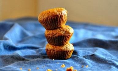 Carrot Raisin Nut Muffins