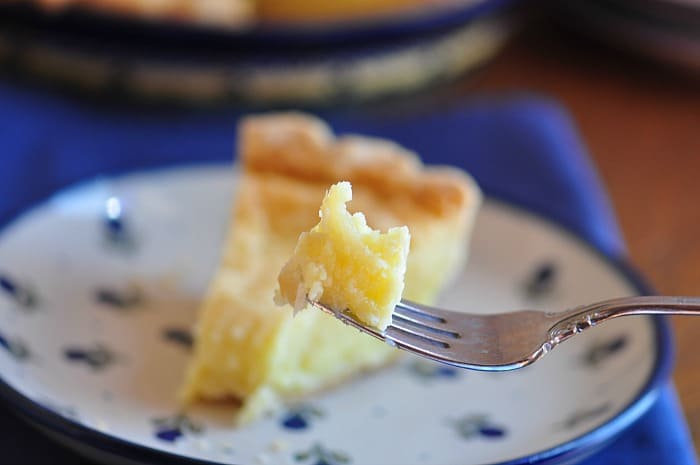 have a bite of buttermilk pie with kefir!