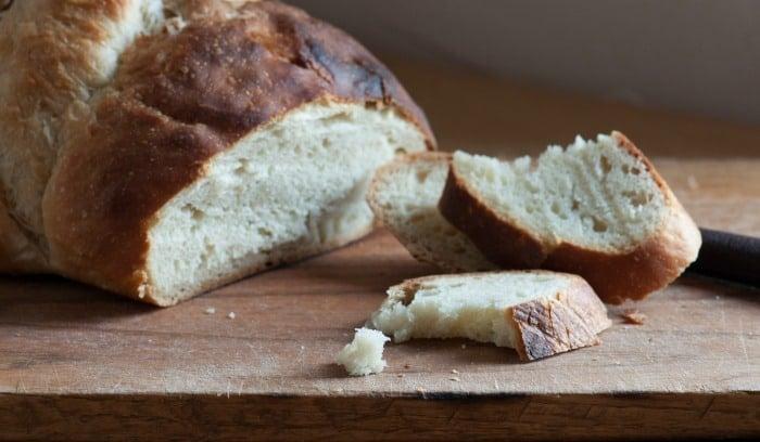 sourodugh loaf cut closeup