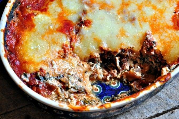 Easy Eggplant Lasagna dish