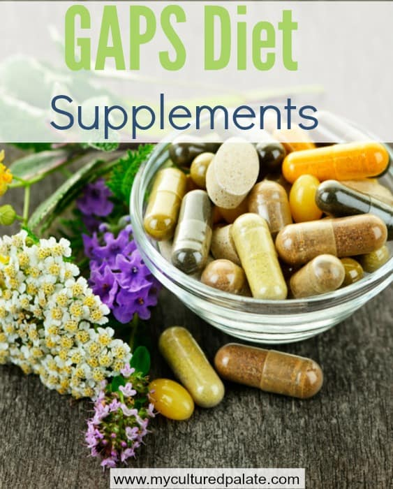 GAPS Diet Supplements