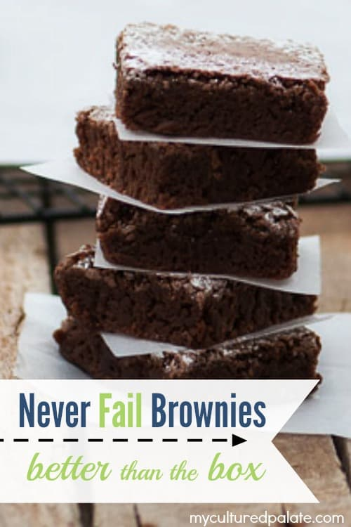 Never Fail Brownies