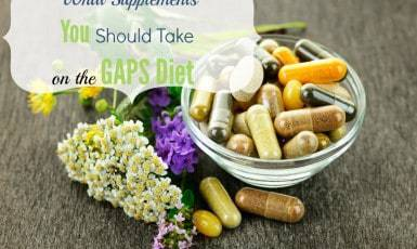 GAPS Diet Supplements – Then and Now