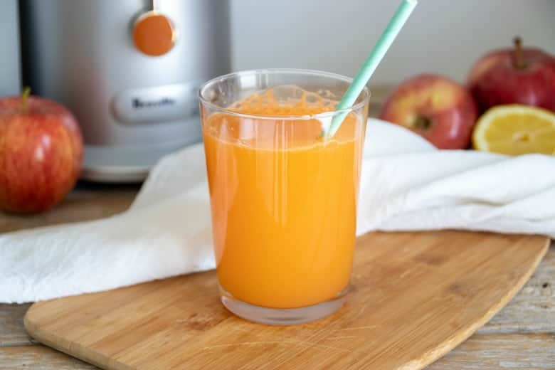 Easiest Carrot Juice Recipe Ever