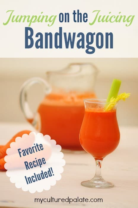 Juicing Bandwagon - Breville juicer and carrot juice recipe
