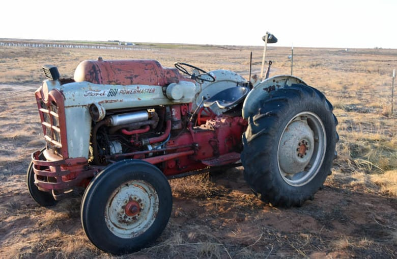 1960's Ford Tractor