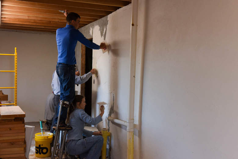 Interior insulation with rigid foam how to insulate for Icf basement