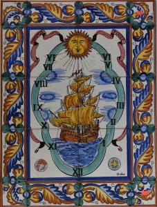 161-4 Ship Sun Dial
