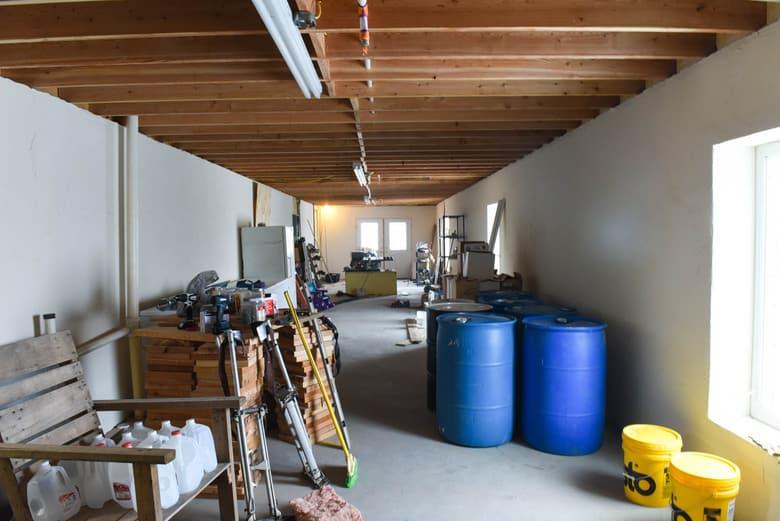 ICF Basement - work room
