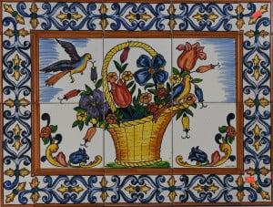 725 Flower Basket