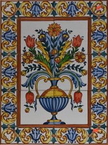 731-2 Tall Flower Vase (2)