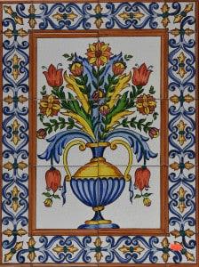 731-2 Tall Flower Vase