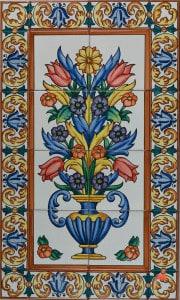 733-1 Tall Flower Vase