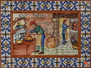 Ceramic Tile Murals 787 Bakers