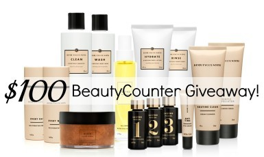BeautyCounter – Safe Skincare Giveaway