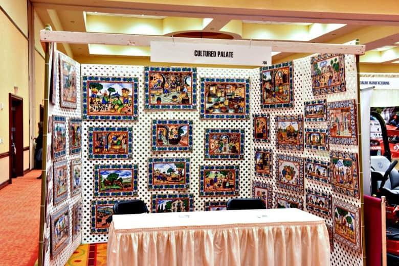 Cultured Palate display in TWGGA show