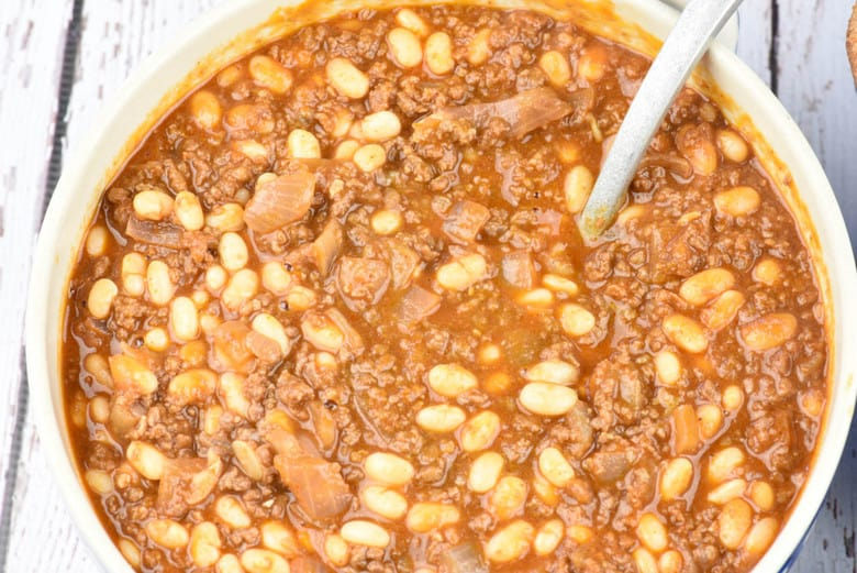 Beef and Beans Sloppy Joes