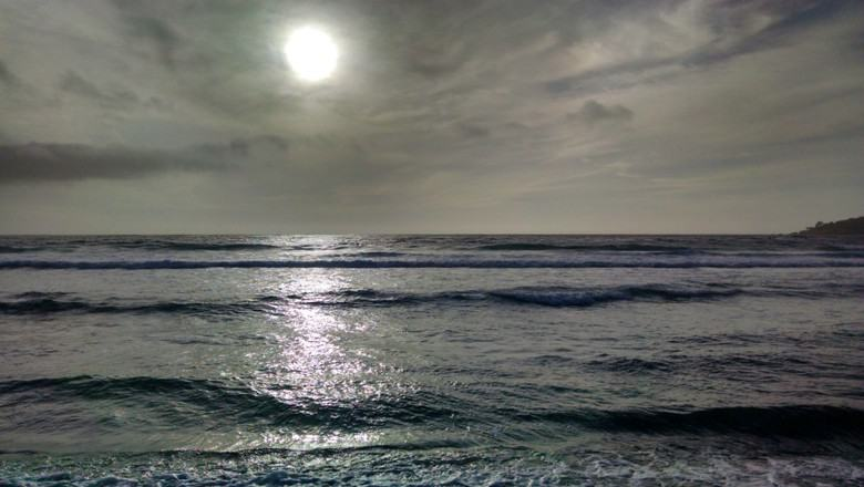 Moonlight on the Pacific