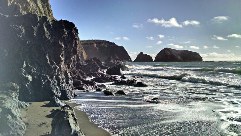 Pacific Rocky Coast