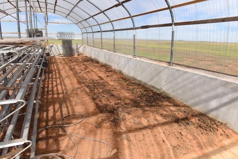 ICF Greenhouse - Winter Garden Beds