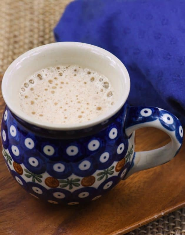 Healthy Coconut Coffee shown in mug