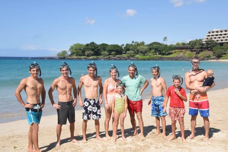 Snorkeling in Hawaii - Mauna Kea