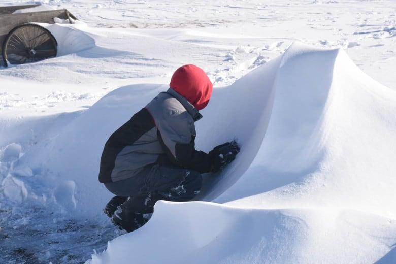 Snowdrift battle field