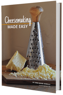 Cheesemaking Made Easy by Dina-Marie Oswald, myculturedpalate.com