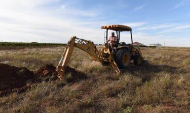 Preparing for Vineyard Expansion