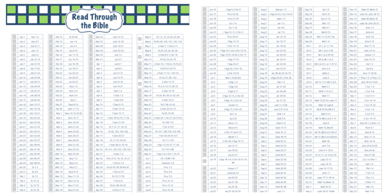 Priceless image inside printable chronological bible reading plan