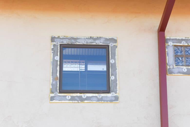 EIFS window trim