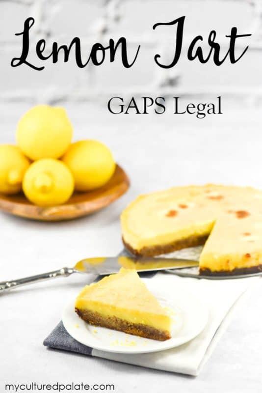 Lemon Tart - GAPS Legal